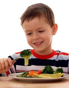 dieta balanceada para los niños